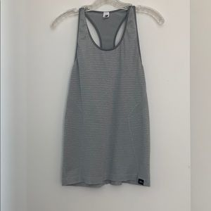 Gray Jcrew and Newbalance workout tank! Size M